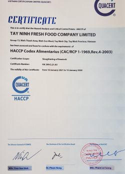 HACCP Tieng anh
